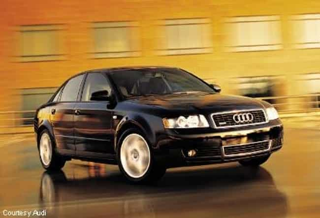 2002 Audi A4 Sedan Quatt... is listed (or ranked) 3 on the list List of All Cars Made in 2002