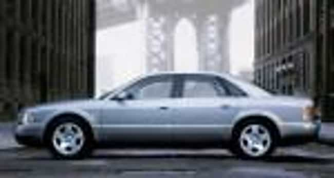 2002 Audi A8 Sedan Quatt... is listed (or ranked) 8 on the list List of All Cars Made in 2002