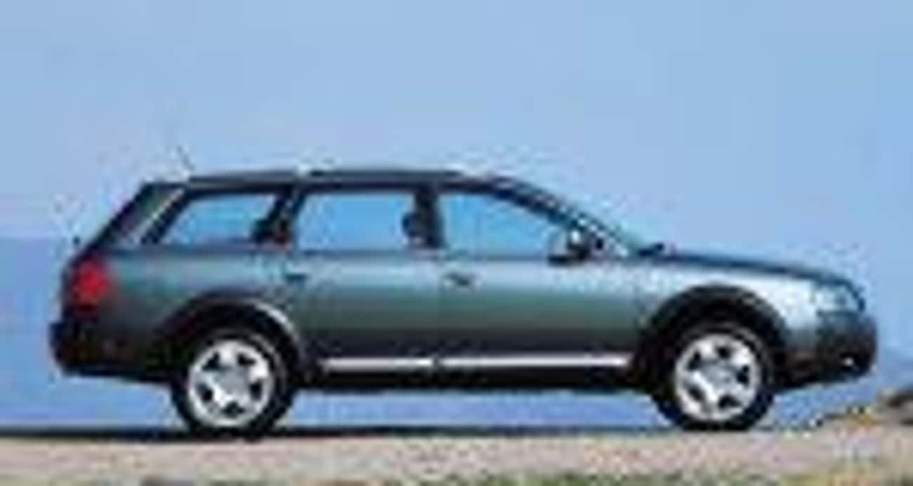 2001 Audi Allroad is listed (or ranked) 3 on the list List of Popular Audi Station Wagons
