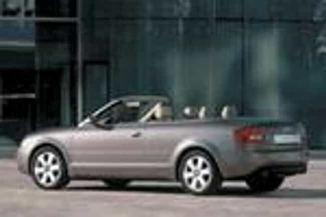 2003 Audi A4 Sedan Quatt... is listed (or ranked) 4 on the list List of All Cars Made in 2003