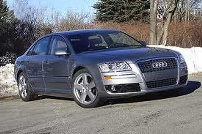 2007 Audi A8 is listed (or ranked) 1 on the list The Best Audi A8s of All Time