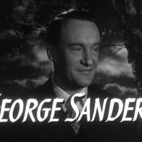 George Sanders is listed (or ranked) 4 on the list Famous People Whose Last Name Is Sanders