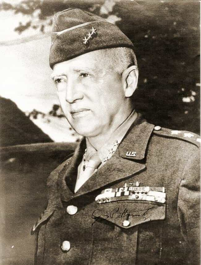 George S. Patton is listed (or ranked) 4 on the list The 30 Biggest Badasses In History