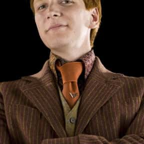 George Weasley is listed (or ranked) 13 on the list List of Harry Potter And The Goblet Of Fire Characters