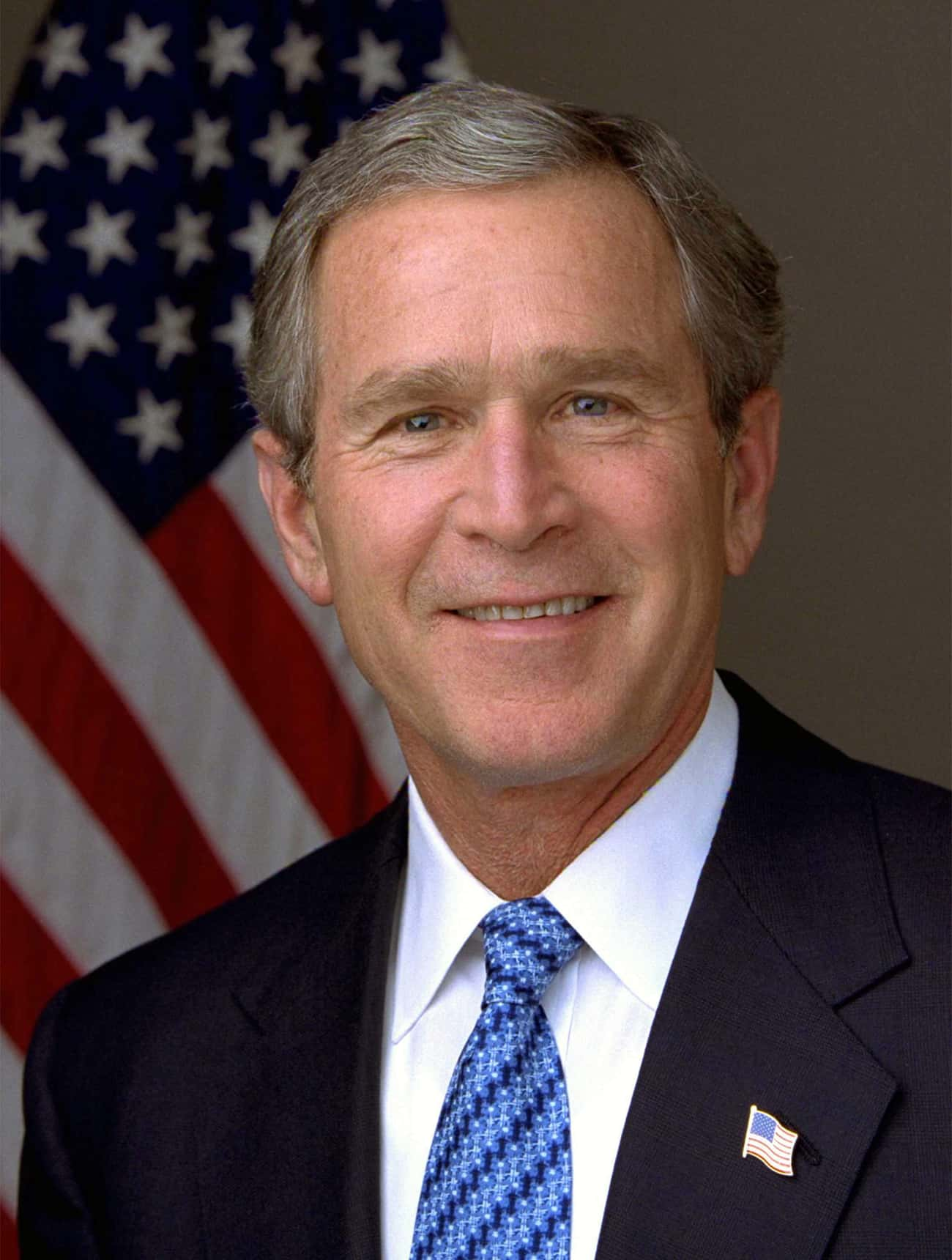 """George W. Bush is listed (or ranked) 3 on the list Male Celebrities Who Are 5'11"""""""
