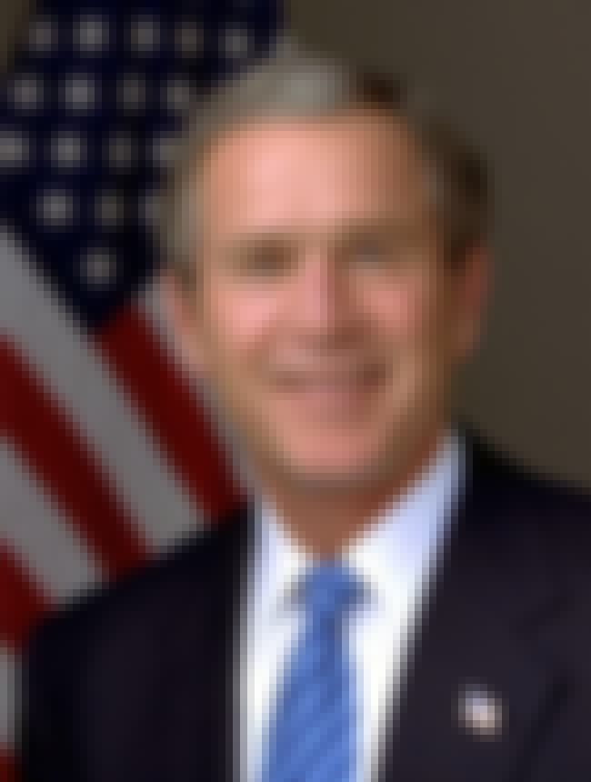 George W. Bush is listed (or ranked) 1 on the list Famous Male Aviators
