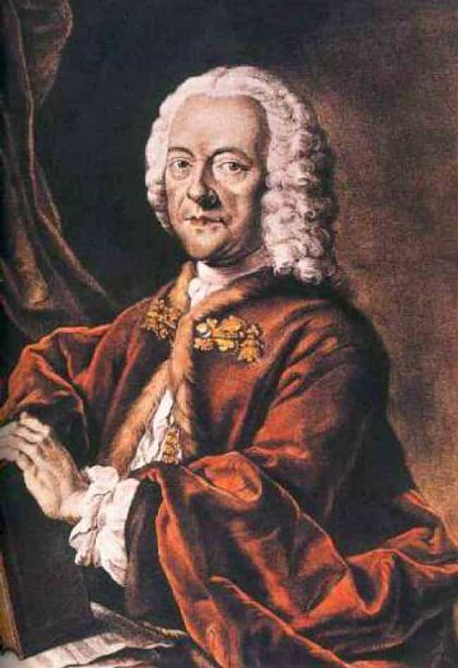 Georg Philipp Telemann is listed (or ranked) 1 on the list Famous Male Oboists
