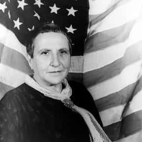 Gertrude Stein is listed (or ranked) 4 on the list List of Famous Librettists