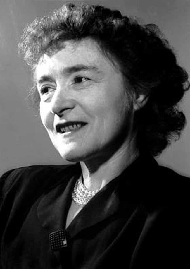 Gerty Cori is listed (or ranked) 3 on the list Famous Female Biochemists