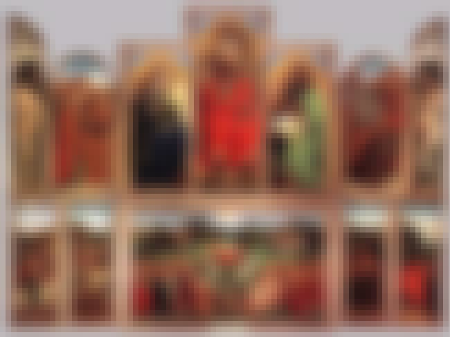 Ghent Altarpiece is listed (or ranked) 3 on the list List of Famous Jan Van Eyck Artwork