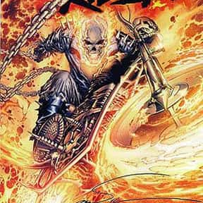 Ghost Rider is listed (or ranked) 17 on the list The Top Marvel Comics Superheroes