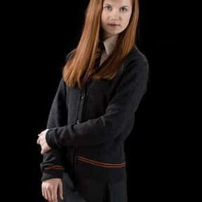 Ginny Weasley is listed (or ranked) 21 on the list The Greatest Kid Characters in Film