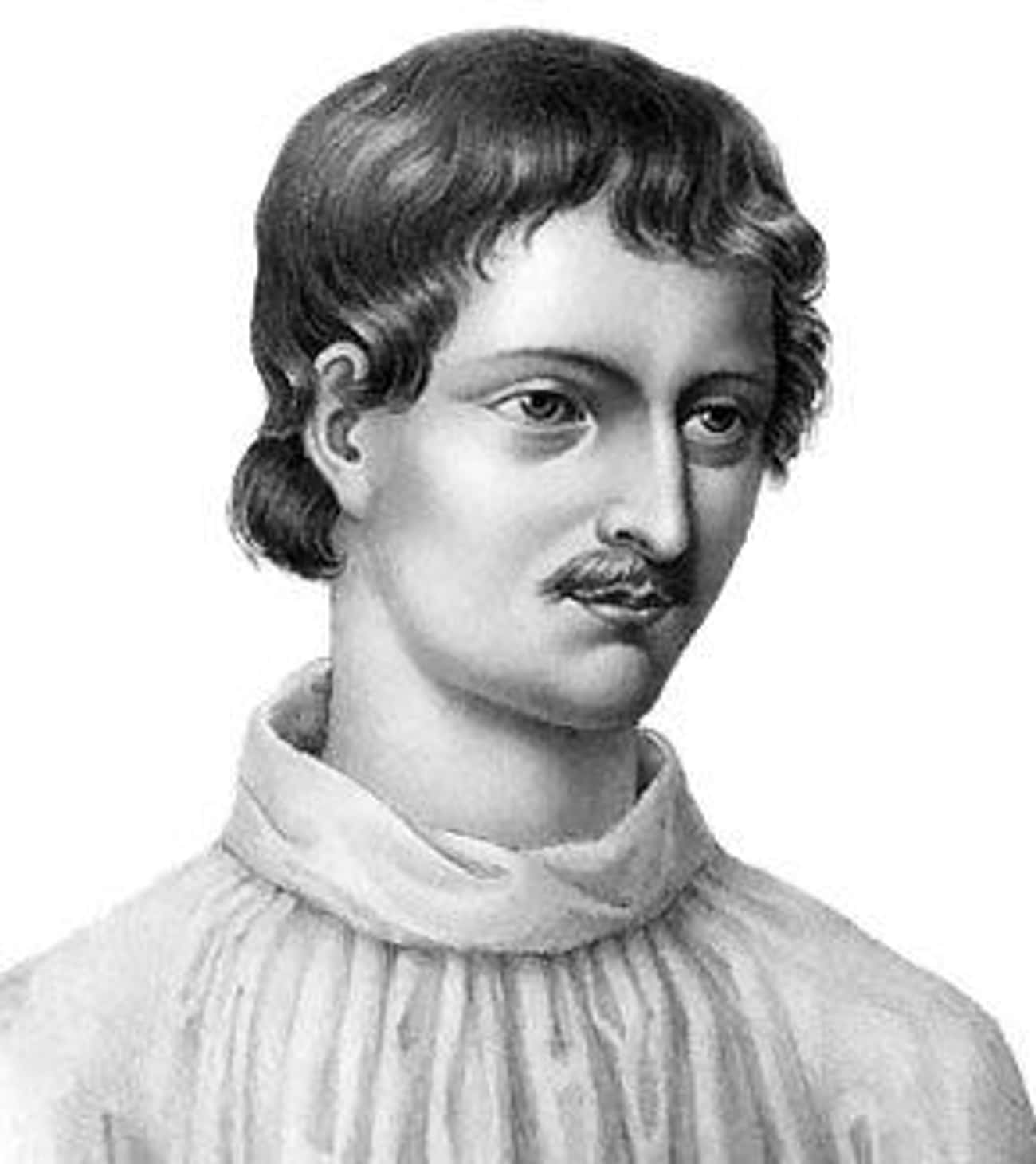 Giordano Bruno is listed (or ranked) 3 on the list Famous People Who Were Burned to Death