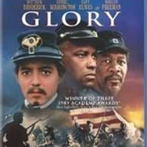 Glory is listed (or ranked) 6 on the list The Best Morgan Freeman Movies