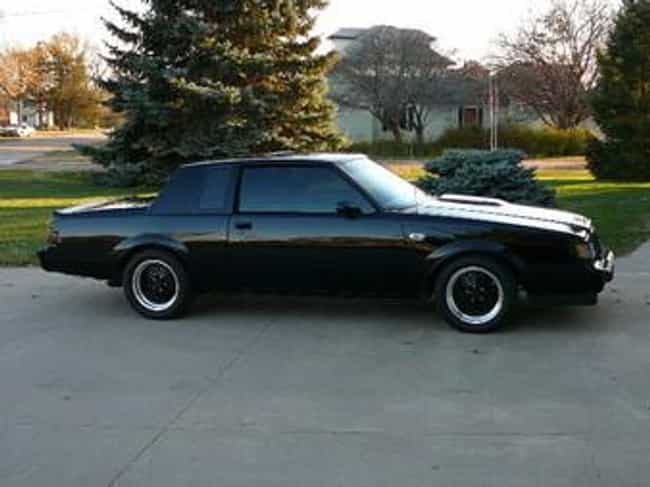 1986 Buick Regal Coupé Is Listed Or Ranked 4 On The List Of