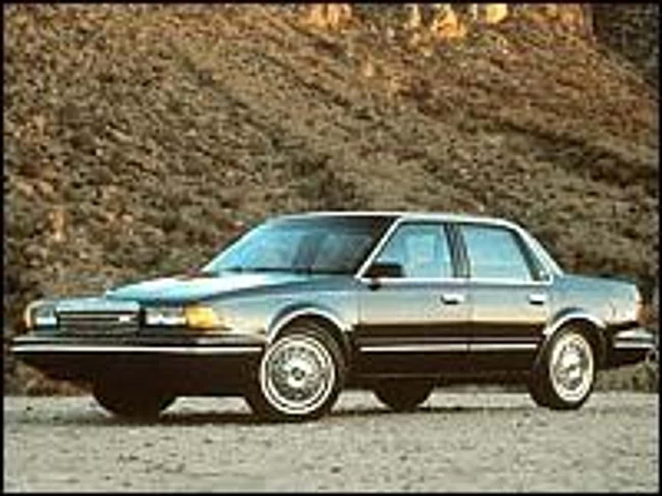 1989 Buick Century Coupé is listed (or ranked) 1 on the list List of 1989 Buicks
