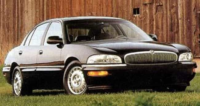 1997 Buick Park Avenue ... is listed (or ranked) 4 on the list The Best Buick Park Avenues of All Time