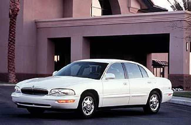 1998 Buick Park Avenue ... is listed (or ranked) 1 on the list The Best Buick Park Avenues of All Time