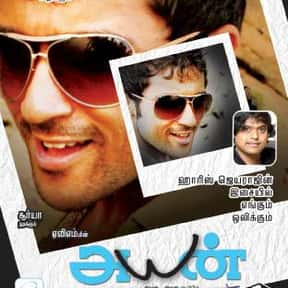 Ayan is listed (or ranked) 14 on the list The Top 10 Tamil Films of 2000