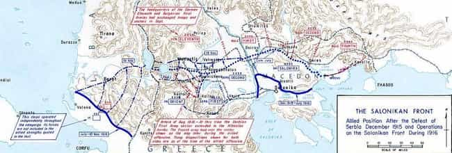 Battle of Doiran is listed (or ranked) 2 on the list List Of Macedonian front Battles