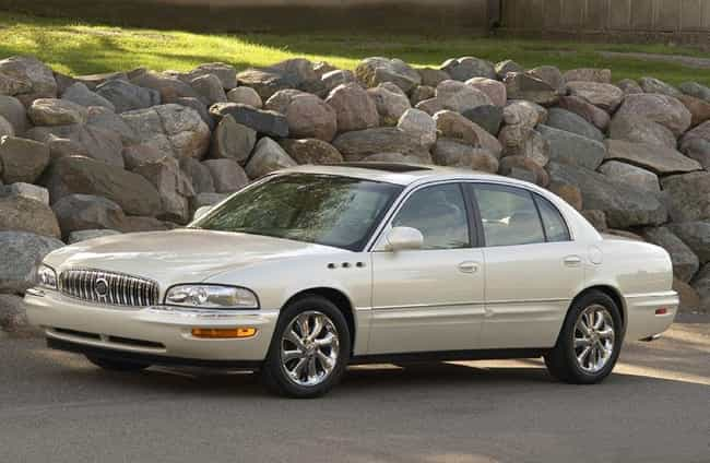 2004 Buick Park Avenue ... is listed (or ranked) 3 on the list List of 2004 Buicks