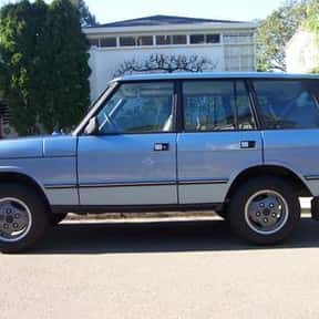 1989 Land Rover Range Rover is listed (or ranked) 19 on the list The Best Sport Utility Vehicles of All Time