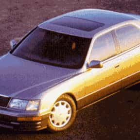 1995 Lexus LS is listed (or ranked) 13 on the list The Best Sedans of All Time