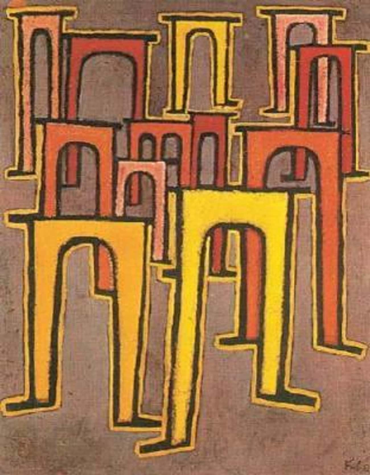 Revolution des Viadukts is listed (or ranked) 4 on the list Famous Modernism Paintings