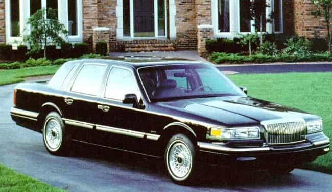 1996 Lincoln Town Car is listed (or ranked) 4 on the list The Best Lincoln Town Cars of All Time