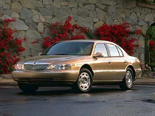 1998 Lincoln Continental... is listed (or ranked) 4 on the list The Best Lincoln Continentals of All Time