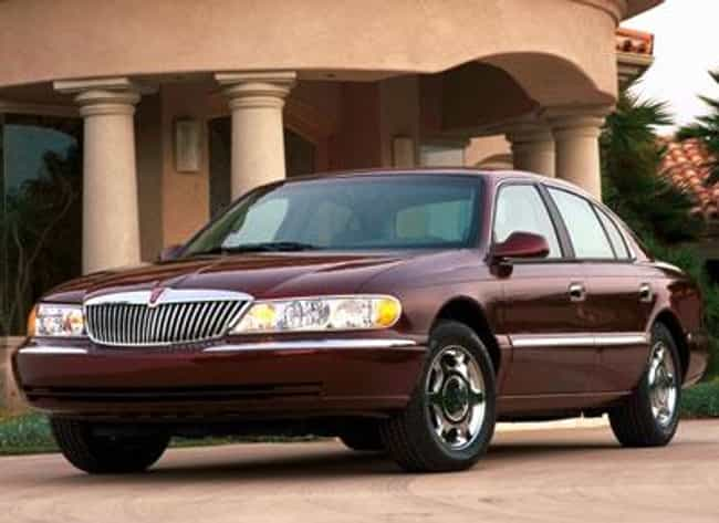 2001 Lincoln Continental... is listed (or ranked) 2 on the list The Best Lincoln Continentals of All Time