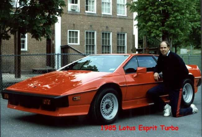 1985 Lotus Esprit Turbo ... is listed (or ranked) 4 on the list The Best Lotus Esprits of All Time