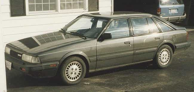 1986 Mazda 626 Coupé is listed (or ranked) 4 on the list List of Popular Mazda 626s