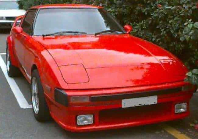 1986 Mazda RX-7 is listed (or ranked) 2 on the list List of Popular Mazda RX-7s