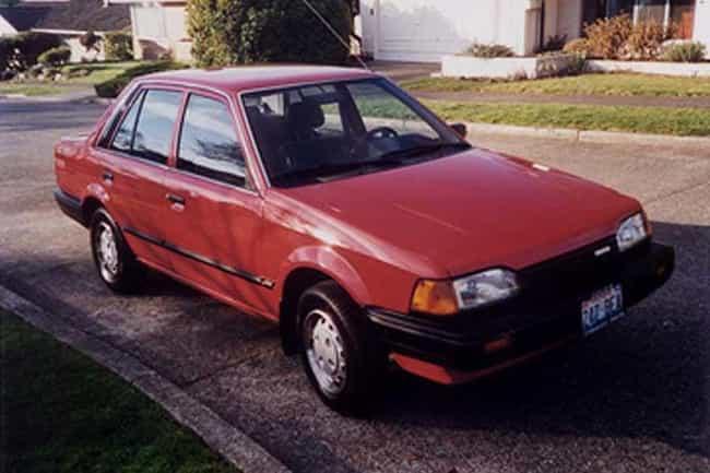 1988 Mazda 323 Hatchback is listed (or ranked) 1 on the list List of Popular Mazda Hatchbacks