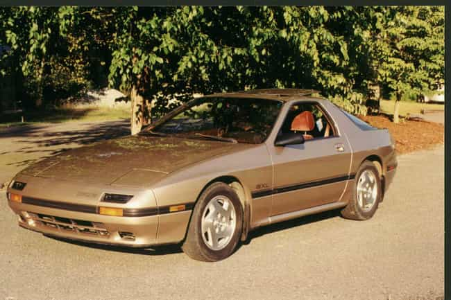 1988 Mazda RX-7 is listed (or ranked) 4 on the list List of Popular Mazda RX-7s