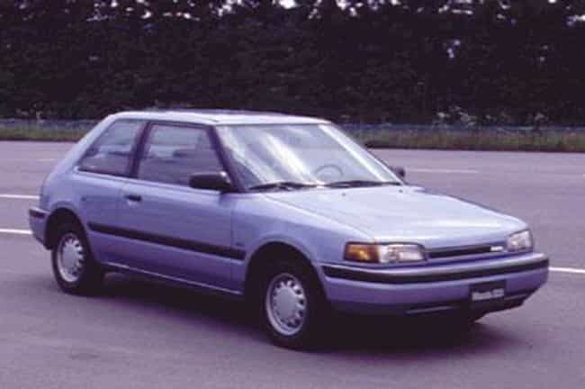1990 Mazda 323 is listed (or ranked) 1 on the list List of 1990 Mazdas