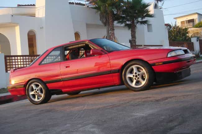 1990 Mazda MX-6 is listed (or ranked) 3 on the list List of Popular Mazda MX-6s