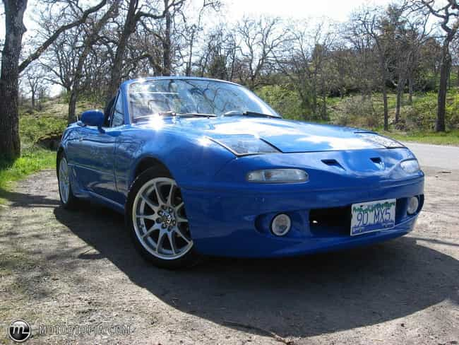 1990 Mazda MX-5 Miata is listed (or ranked) 1 on the list List of Popular Mazda Convertibles