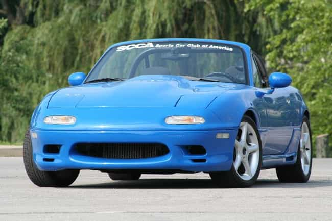 1991 Mazda MX-5 Miata is listed (or ranked) 2 on the list List of Popular Mazda Convertibles