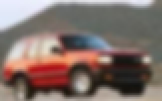 1992 Mazda Navajo SUV 4x4 is listed (or ranked) 1 on the list List of Popular Mazda SUV 4x4s