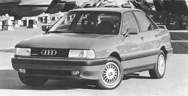 1989 Audi 90 Sedan Quattro is listed (or ranked) 4 on the list List of Popular Audi 90s