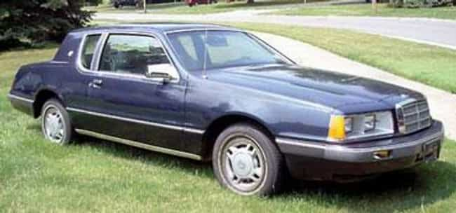 1986 Mercury Cougar is listed (or ranked) 4 on the list List of Popular Mercury Cougars