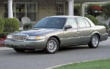 2002 Mercury Grand Marquis is listed (or ranked) 2 on the list The Best Mercury Grand Marquiss of All Time