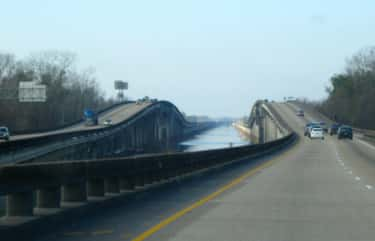 Atchafalaya Basin Bridge is listed (or ranked) 2 on the list Bridges in Louisiana