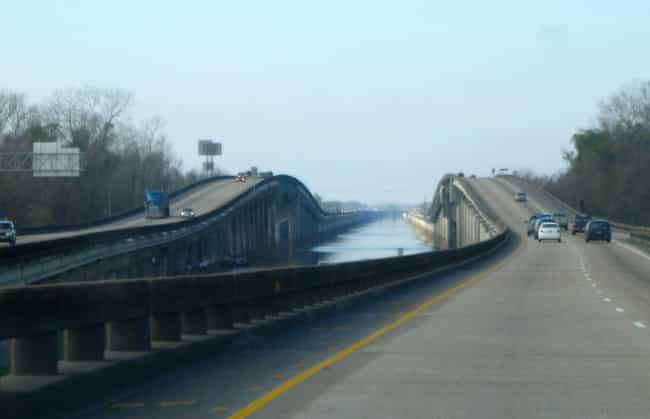 Atchafalaya Basin Bridge... is listed (or ranked) 2 on the list Bridges in Louisiana