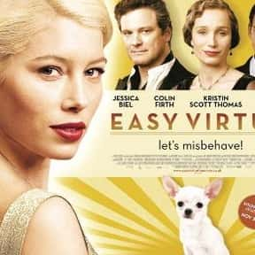 Easy Virtue is listed (or ranked) 18 on the list The Best Colin Firth Movies