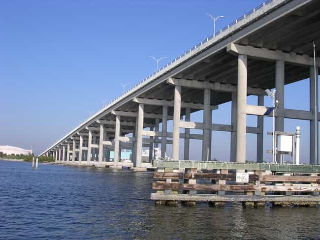Alma Lee Loy Bridge is listed (or ranked) 1 on the list Bridges in Florida