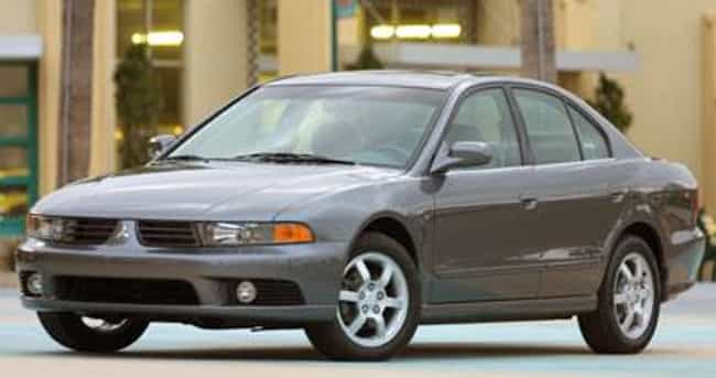 2002 Mitsubishi Galant is listed (or ranked) 4 on the list List of 2002 Mitsubishis