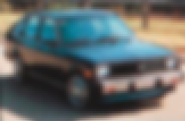 1987 Pontiac 1000 is listed (or ranked) 1 on the list List of 1987 Pontiacs
